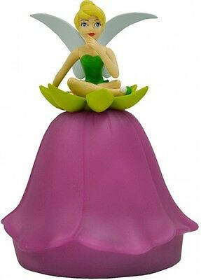 Disney Tinkerbell Figural Pushlight Kids Bedroom Decor Lighting Character Design