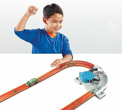 Hot Wheels Workshop Track Builder Turn Kicker Track Extension **FREE POST**