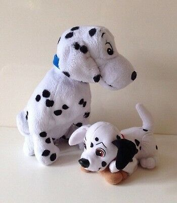 Walt Disney World Perdita 101 Dalmations Plush Soft Toy & Disney Puppet