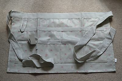 New with tag - Sophie Allport gardening half apron - rose design - Ideal gift