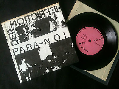 "Various -  Compilation I The Voxhall Tracks Luton 7"" EP UK 1979 VG/VG+  # Punk"