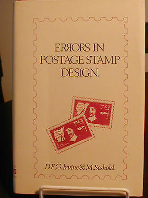 Errors in Postage Stamp Design- Book[1979 1st Edition H/B with dustwrapper]