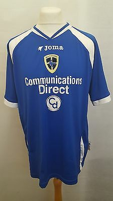 Cardiff City Fc Shirt Joma Home Size L Large - 2006/2007 Blue