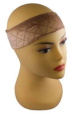 MILANO COLLECTION Wi-Grip Extra Hold Wig Comfort Band - Tan NEW