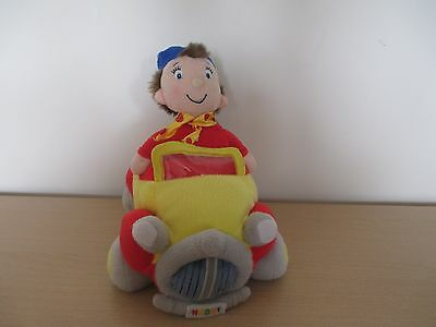 """NODDY IN HIS CAR SOFT TOY by PLAY BY PLAY - approx 9"""" long"""