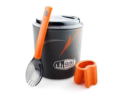 GSI Outdoors Halulite Minimalist Cookset Kit! Camping Camp Cook Backpacking Pot