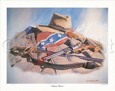"Art Civil War ""Confederate Memories"" goes w/ Robert E Lee Highly Collectible"