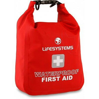 Lifesystems Waterproof First Aid Kit With Impact Resistant Case Red /