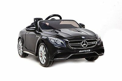 Licensed Mercedes Benz S63 AMG Ride On Car - Electric Kids Car - 12 Volt - Black