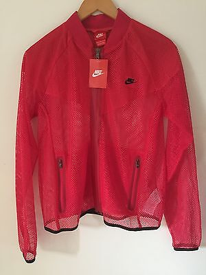 Nike Women's Ru Mesh Running Jacket Large, New With Tags