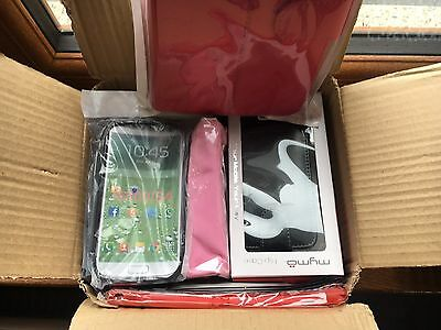 Joblot Over 20 X Mobile Phone and Tablet cases, Screen Protectors, Chargers
