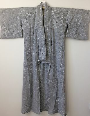 Authentic Japanese cotton nemaki for women, dressing gown, Japan import (F1541)