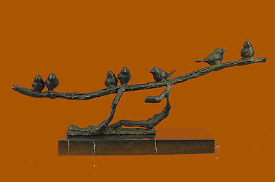 Art Deco Sculpture The Dove Of Peace Bronze Statue Limited Edition