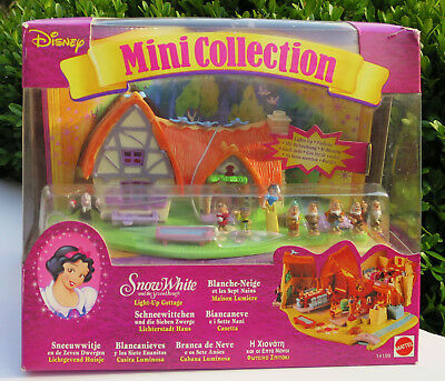Polly Pocket Disney Snow White and the Seven Dwarfs NEW IN BOX Tiny Collection