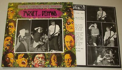 Target Of Demand - Your Choice Live Series LP Jingo The Lunch , Arm