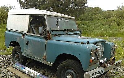 land rover series 3 restoration project
