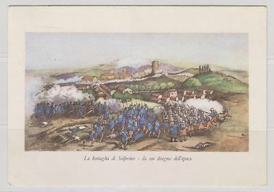 Italy Sc. 779 After Battle of Magenta on La Battaglia di Solferino 1959 Postcard