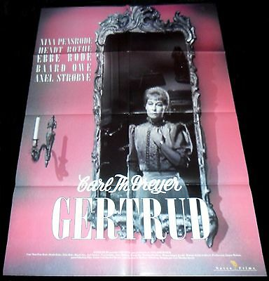 1964 Gertrud ORIGINAL SPAIN R90S POSTER Carl Theodor Dreyer