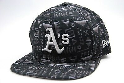 Oakland Athletics New Era 9Fifty MLB Baseball Geo Team Logo Snapback Cap Hat 2029547407eb