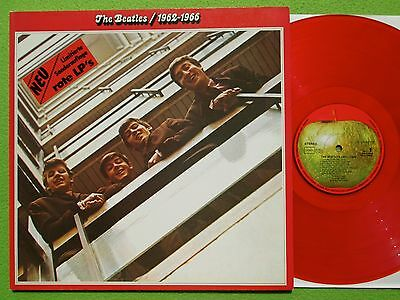 The Beatles - 1962-1966 Limited Edition Red Vinyl 2LP-Set Apple Records 1978