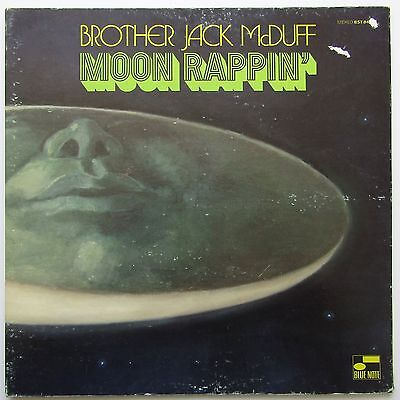 Brother Jack McDuff - Moon Rappin' LP 1970Blue Note BST 84334