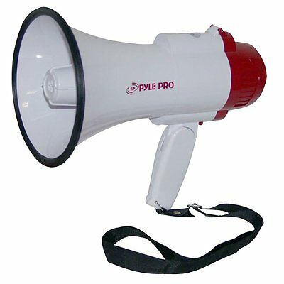 PylePro PMP35R Professional Megaphone / Bullhorn w/ Siren & Voice Recorder