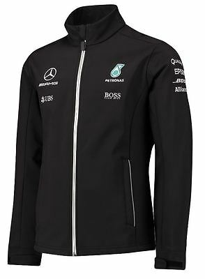 Oem Genuine Mercedes Benz Men's Amg F1 Petronas Team Softshell Jacket