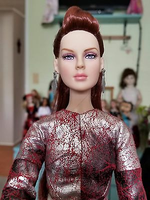 "TONNER 16"" Precious Metal Complete doll with COPPERY RED HAIR"