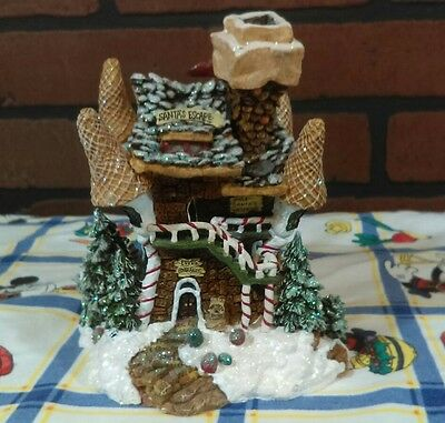 Boyd's Bearly-Built Villages Kringle's Retreat With Bear In Chair No Box  Chip