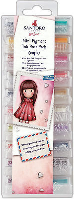 Docrafts Gorjuss 20 piece pigment ink pads Rubber & clear stamps Pigmented