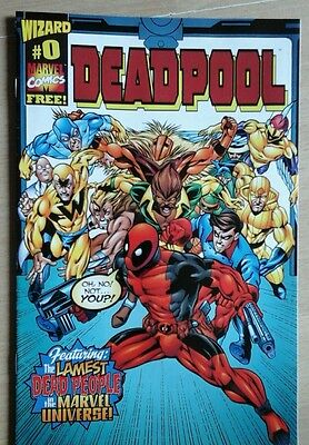 Deadpool #0 Cover A (1997 Series) , 1st Print , Wizard Giveaway , Marvel , vfn