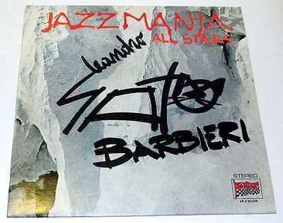 "Leandro Gato Barbieri ""Jazz Mania All Stars"" - Durium 1977 (LP.S 40.008 Italy)"