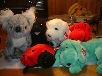 Ty Retired Beanie Buddies All New Animals Your Choice