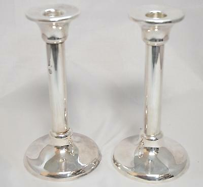 Stunning Pair of Tiffany and Company Sterling Silver Candlesticks 4246