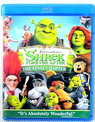 Shrek Forever After The Final Chapter Blu-Ray Movie