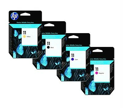 2 tetes d'impression Genuine HP 11 printheads C4810A c4811A c4812A c4813A hp11