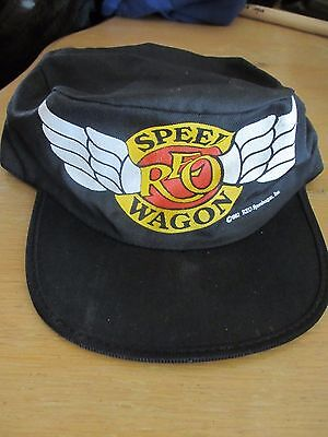 Vintage 1982 REO Speedwagon Painters Cap - By Rockcaps - One Size Fits All Hat
