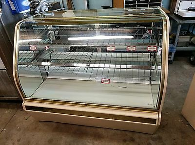 Structural Concepts curved glass DRY Bakery display cabinet Case