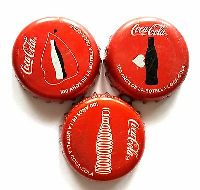 COMPLETE x3 SET COCA COLA COKE 100 YEARS SPECIAL & LIMITED EDITION MEXICO
