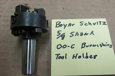 Boyar Schultz 00-C burnishing tool holder