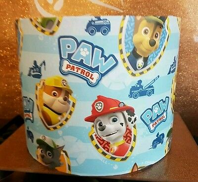 Brand new paw patrol ceiling lightshade lampshade hand crafted