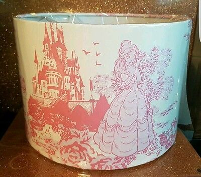 Disney Princess Toile lampshade hand crafted