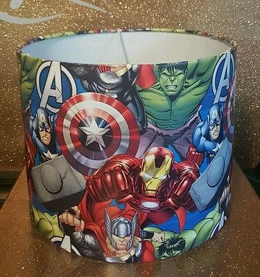 Brand New Marvel Avengers ceiling lightshade Handcrafted