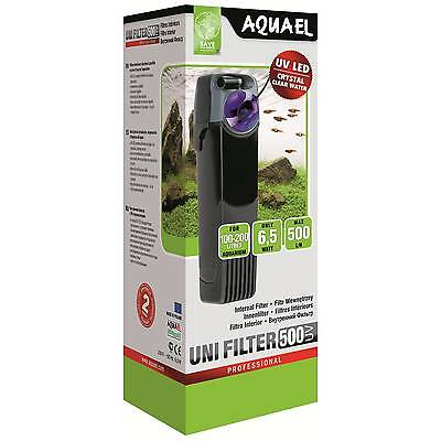 Aquael Internal Aquarium Filter Unifilter 500UV 750UV 1000UV EU plug