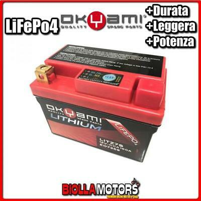E07359 BATTERIA LITIO OKYAMI YTZ7S-BS LiFePo4 LITZ7S YTZ7SBS MOTO SCOOTER QUAD C