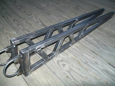 "Universal Ladder Bars Traction Bars Gasser Hot Rod Rat Rod 40"" - 47'' Nostalgia"