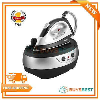 Pifco 3.5 Bar Steam Generator Iron - 2300 W in Silver and Black - P22003