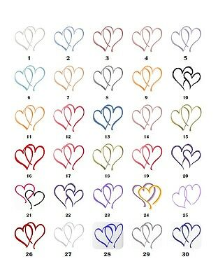 30 Square Stickers Envelope Seals Favor Tags Hearts Buy 3 get 1 free (h3)