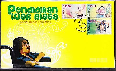 Indonesia 2008 - Special Needs Education First Day Cover