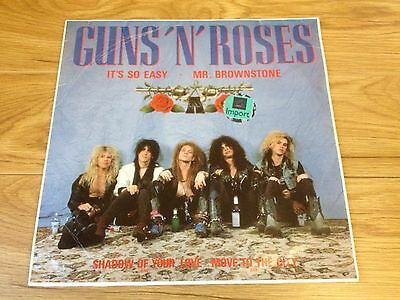 "Guns N Roses Rare Import Vinyl 12"" It's So Easy EP Heavy Metal GnR Appetite"